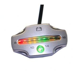KOSO voltmeter silber