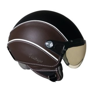Nexx X60 Vintage schwarz braun