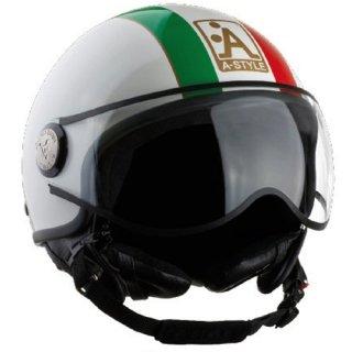 A style helmet italian flag