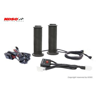 KOSO heated grips 22 mm for bikes