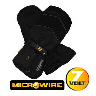 Gerbing outdoor heated mittens with batteries and charger