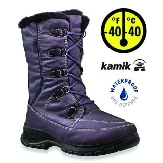 Kamik Brooklyn Winterstiefel Damen grau