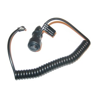 Spiral extension cable with cigaretts car plug