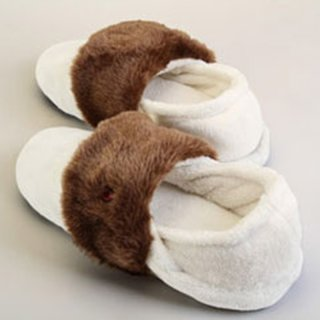 Thermo Slippers white