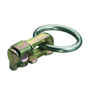 Lasching point, steel body with ring, 1.100 daN