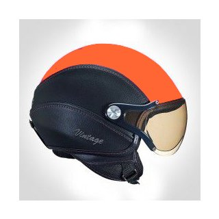 Nexx X60 Vintage orange black helmet