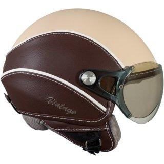 Nexx X60 Vintage helmet creme brown