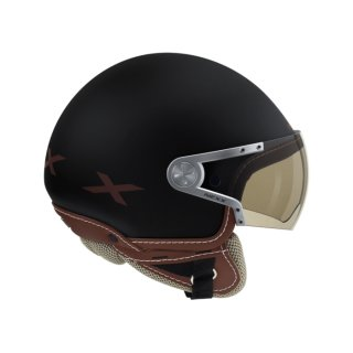 Nexx X60 Rap helmet black brown
